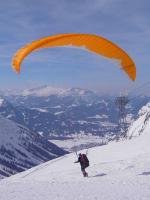 Paragliding Fluggebiet ,,Nebelhorn März 05 Ist das nicht ein Panorama?!