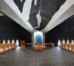 Paragliding Fluggebiet Europa » Schweiz » Tessin,Monte Tamaro,absolut sehenswert: die Kirche von Mario Botta: Innenansicht