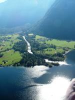 Paragliding Fluggebiet Europa » Österreich » Oberösterreich,Krippenstein,Landeanflug Obertraun