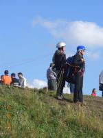 Paragliding Fluggebiet Europa » Tschechische Republik,Kozakov,tandem richtung süd startend