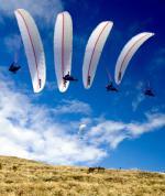 Paragliding Fluggebiet ,,das Bild ist im Herbst entstanden wo die Thermik sehr ruhig ist am Zettersfeld, ideal zum Schirmtesten. Danke an Stef für das Pic ;)