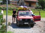 Paragliding Fluggebiet Europa » Italien » Lombardei,Lago d' Iseo,Statt Seilbahn mit dem Allrad