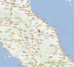 Paragliding Fluggebiet Europa » Italien » Umbrien,Monte Cucco,Anfahrt von der Adriaseite  Am besten via FABRIANO, dann durch das lange Tunnel rtg GUALDO-TADINO  G: parks.it/alb/monte.cucco