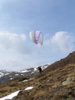 Paragliding Fluggebiet ,,UP Targa 2