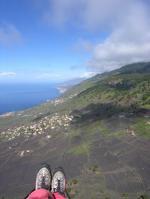 Paragliding Fluggebiet Europa » Spanien » Kanarische Inseln,la Palma - Fuencaliente,Auf dem Flug von Fuencaliente Richtung Puerto Naos
