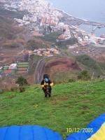 Paragliding Fluggebiet Europa » Spanien » Kanarische Inseln,Puntallana,Ziemlich steiler Startplatz