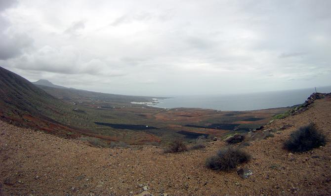 Blick in Startrichtung, Januar 2011