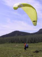 Paragliding Fluggebiet Nordamerika » USA » Utah,Jupiter,Die Landezone