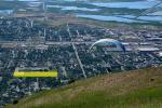 Paragliding Fluggebiet Nordamerika » USA » Utah,The V,LZ bei der Centerville High School(vom Start aus gesehen)