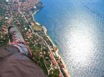 Paragliding Fluggebiet Europa » Italien » Venetien,Monte Baldo,Der Landeplatz ist hier nicht zu sehen und befindet sich etwas hinter mir