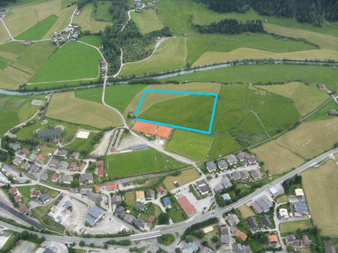 Blau: Landezone Neukirchen