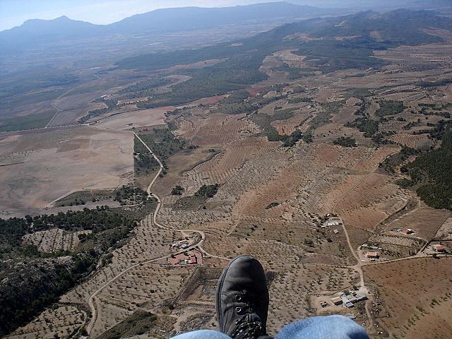 views towards Jumilla, Sierra del Buey