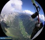 Paragliding Fluggebiet ,,Auf dem Weg nach Lienz hoch über dem Antholzertal