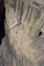Paragliding Fluggebiet Europa » Italien » Trentino-Südtirol,Col Rodella,Soaren an den Sellatürmen  Mit freundlicher Genehmigumng von: www.azoom.ch