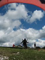 Paragliding Fluggebiet Europa » Italien » Friaul-Julisch Venetien,Meduno - Monte Valinis,Bilderbuchstart in Meduno...