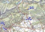 Paragliding Fluggebiet Europa » Italien » Friaul-Julisch Venetien,Meduno - Monte Valinis,Übersicht  Karte©www.centrofriulanoparapendio.it