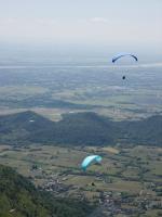 Paragliding Fluggebiet Europa » Italien » Friaul-Julisch Venetien,Meduno - Monte Valinis,Im Juni 2006. Das Wetter war nicht so toll. In einer Woche konnten wir nur drei Flüge machen.