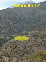 Paragliding Fluggebiet Südamerika » Chile,Farellones,Altn LZ (Parque Yerba Loca); erreichbar über Fahrweg)