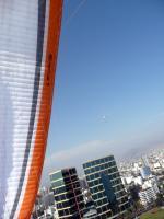 Paragliding Fluggebiet ,,Spirale vor dem Mariott