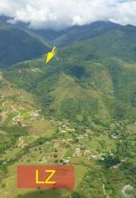 Paragliding Fluggebiet Südamerika » Kolumbien » Valle,Guacas - Golondrinas,