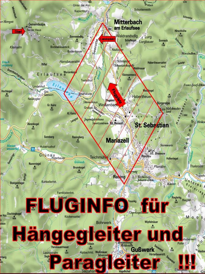 Luftraum-Einteilung Segelflugplatz