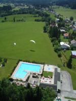 Paragliding Fluggebiet ,,Nach der Landung ab zu Uschi ins Freibad