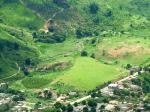 "Paragliding Fluggebiet Südamerika » Brasilien,Pancas,""Haupt""landeplatz im Anflug"