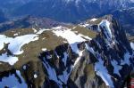 Paragliding Fluggebiet ,,Blick auf den Eisenerzer Reichenstein im April 2006. Im Bild rechts sieht man den Polster. Hinter dem Reichenstein deutlich zu erkennen, der Erzberg, dahinter die Stadt Eisenerz. Traumhafte Gegend...