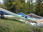 Paragliding Fluggebiet Europa » Österreich » Steiermark,Schiessling,Aufbauplatz SSW Start