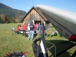Paragliding Fluggebiet Europa » Österreich » Steiermark,Schiessling,Landeplatz mit  Hangar 8
