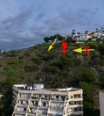 Paragliding Fluggebiet Europa » Spanien » Andalusien,La Herradura,Kollisions-GEFAHR beim tiefen Kratzen Richtung Startplatz!
