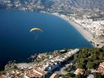 Paragliding Fluggebiet Europa » Spanien » Andalusien,La Herradura,Strand und ein Teil der Kante.