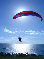 Paragliding Fluggebiet Europa » Portugal » Madeira,Falesia,Soaring über den Segelbooten