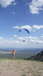Paragliding Fluggebiet Südamerika » Argentinien,El Morro,SP El Morro Blick rtg Südost