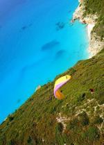 Paragliding Fluggebiet ,,Frühjahr2004 - noch sind die Strände leer. (Clubausflug des Soaringclub Präbichl)