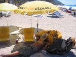 Paragliding Fluggebiet Europa » Griechenland » Westliches Griechenland (Küste und Inland),Kathisma,siesta in der mittagshitze......lefkas 2005.....
