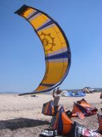 Paragliding Fluggebiet Europa » Griechenland » Westliches Griechenland (Küste und Inland),Kathisma,kitesurf open 2005 lefkas ai janni beach....