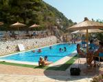 Paragliding Fluggebiet Europa » Griechenland » Westliches Griechenland (Küste und Inland),Kathisma,nach dem flug ist vor dem flug.... cafe libre am kathisma beach....