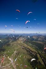 Paragliding Fluggebiet ,,EM in Abtenau @www.azoom.ch