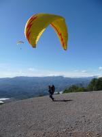 Paragliding Fluggebiet Europa » Spanien » Andalusien,Castala,Starten ist hier sehr einfach.