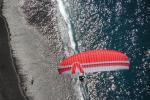Paragliding Fluggebiet Europa » Spanien » Kanarische Inseln,la Palma - Kante bei Puerto Naos,Landeanflug am Strand von Puerto Naos