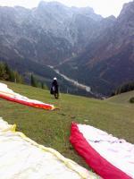 Paragliding Fluggebiet Europa » Österreich » Tirol,Zwölferkopf,Startplatz nach Westen, 5 min von der Bergstation entfernt