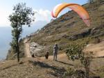 Paragliding Fluggebiet Asien » Nepal,Sarangkot,Sarangkot, Startplatz Frontiers/Annapurna