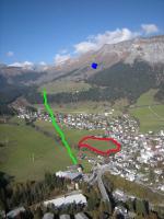 Paragliding Fluggebiet Europa » Schweiz » Graubünden,Cassons (erst ab .... wieder Offen) und Naraus,