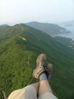 Paragliding Fluggebiet Asien » Hong Kong,Shek-O (Dragon's Back),Dragon's Back mit Startplatz  mit freundlicher Genehmigung ©www.high-above.de