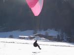 Paragliding Fluggebiet Europa » Österreich » Tirol,Jöchelspitze,Und der schöne große Landeplatz.