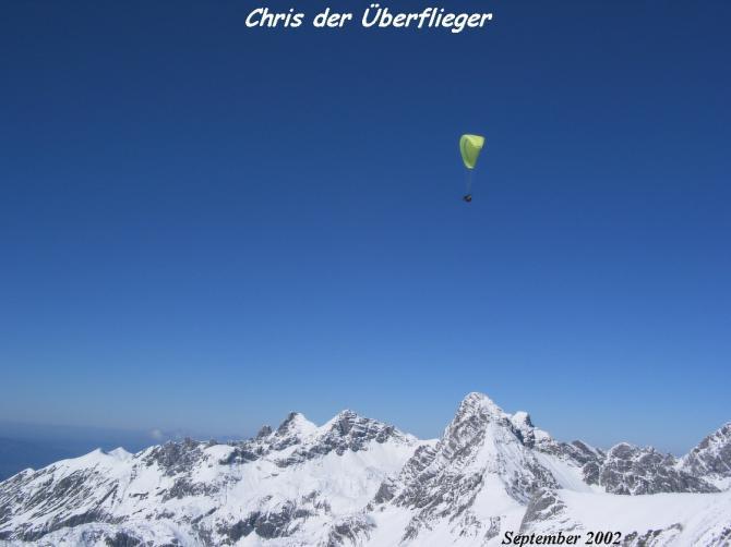 ...auch im Winter gehts gut:3200m !! Pilot: Chris Magg Foto: Flydoc
