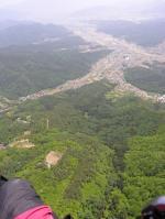 "Paragliding Fluggebiet Asien » Japan,Paraglider Park Aoki,Startplatz ""B top"""