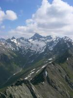 Paragliding Fluggebiet Europa » Österreich » Tirol,Silvretta - Predigberg-Adamberg-Ballunspitze,Copygright,Foto und Pilot:Flydoc ...der Weg zum Fluchthorn !!!