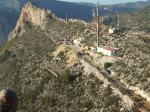 Paragliding Fluggebiet Europa » Spanien » Valencia,Morro de Toix,Startplatz Antenne